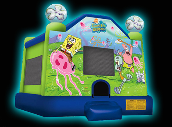 Sponge Bob Square Bounces Moonbounce